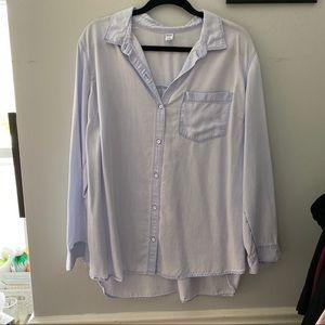 🦋Blue Button Down Shirt